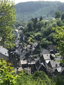 Monschau - panoramic view