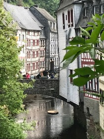 Monschau - river view